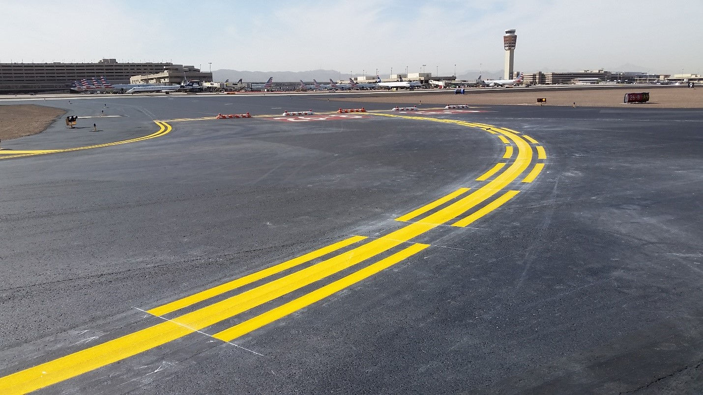 Airport Pavement Markings - Falcon Contracting